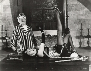 Anna Quayle in Chitty Chitty Bang Bang (with corset)