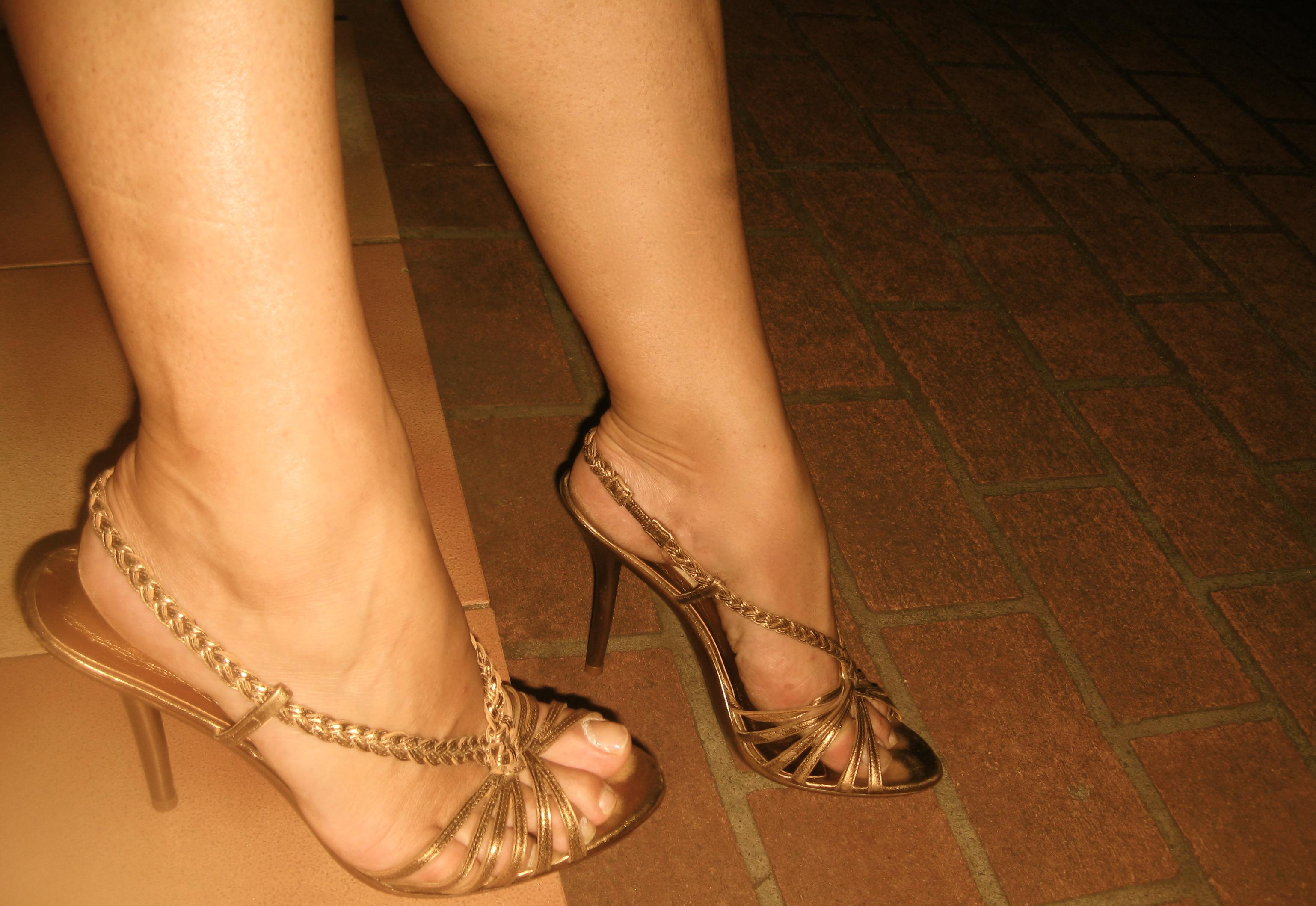 Strappy Sandals High Heels
