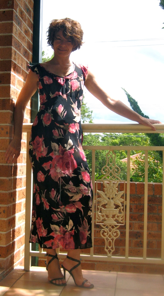 The First Summer I Spent In Sydney I Was 2 Stones Heavier But It's Really Pretty Dress