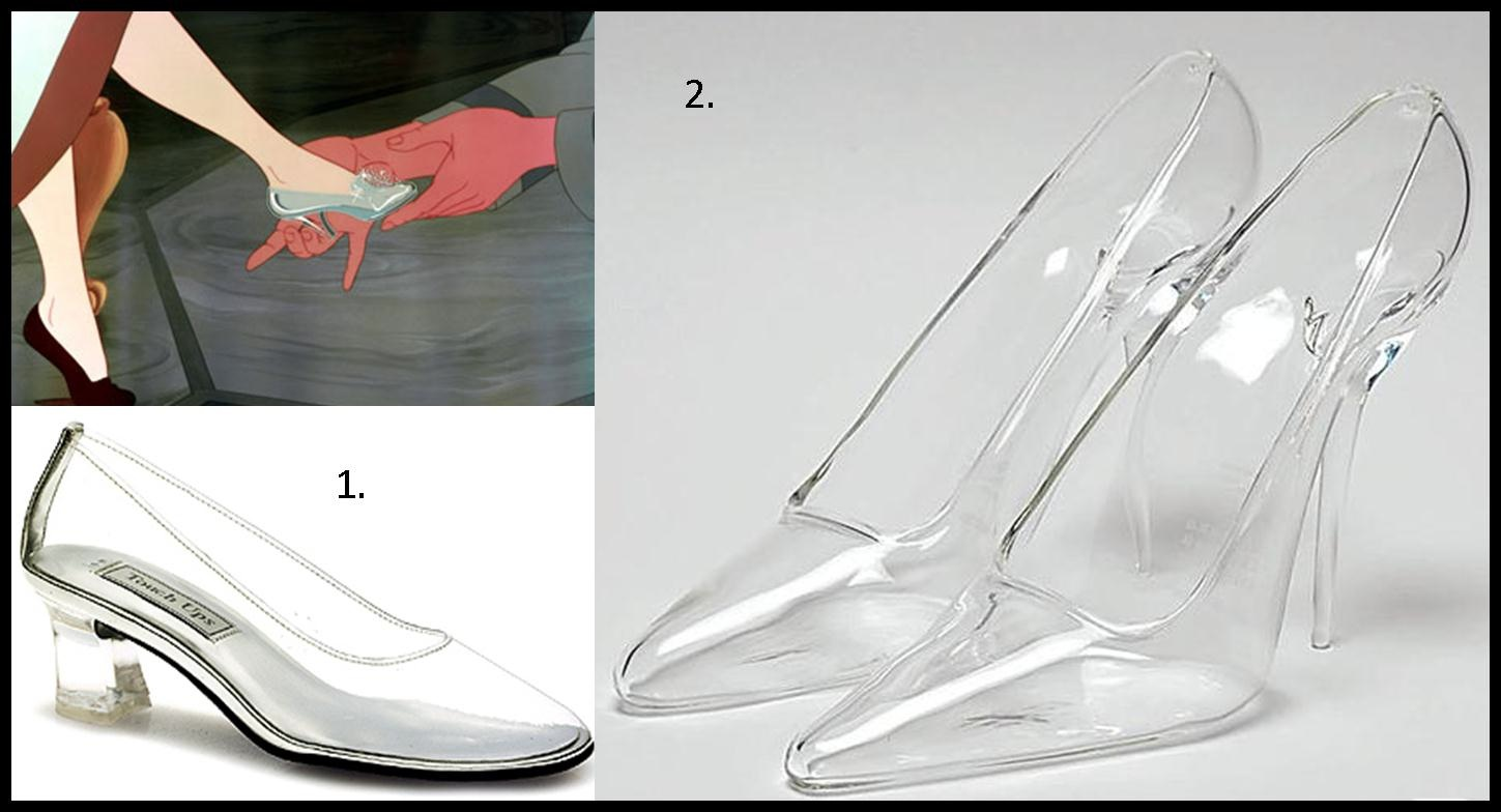 Real Glass Slippers