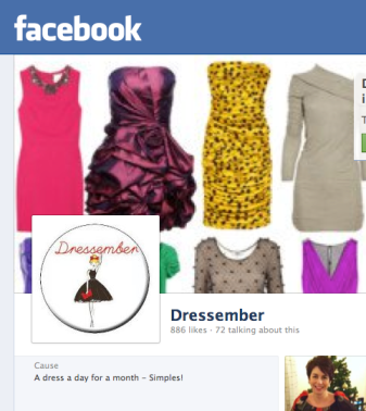 Dressember on Facebook