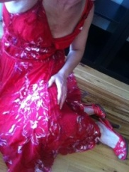 Day 21 - Red dress, red shoes